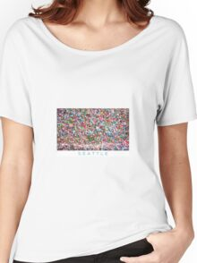 Gum Wall of Seattle # 5 Women's Relaxed Fit T-Shirt