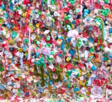 Gum Wall of Seattle # 5 Sticker
