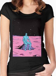 Dr Manhattan Women's Fitted Scoop T-Shirt