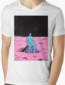 Dr Manhattan Mens V-Neck T-Shirt