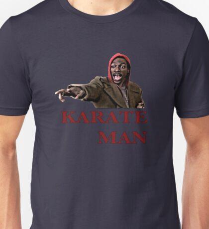 Karate Man Valentine Unisex T-Shirt