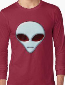 Alien Head 01 Long Sleeve T-Shirt