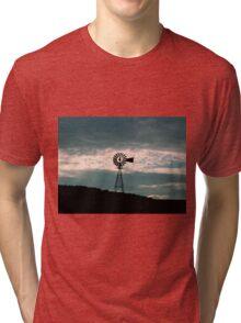 Countryside Silhouette     ^ Tri-blend T-Shirt