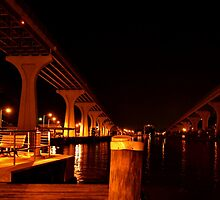 Midnight Waterfront by jasmith162