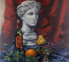 Athena Still Life by Eric Westbrook by Terry  Berman