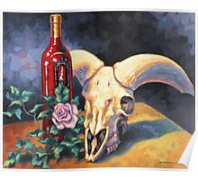 Still Life with Antlers by Eric Westbrook Poster