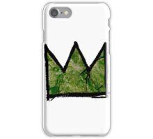 "Basquiat ""King of Dallas Texas"" iPhone Case/Skin"