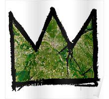 "Basquiat ""King of Dallas Texas"" Poster"