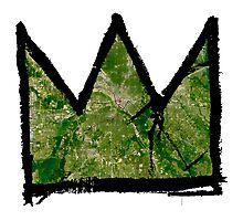 "Basquiat ""King of Dallas Texas"" Photographic Print"
