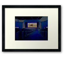 Movie Theater Framed Print