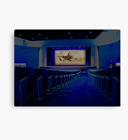 Movie Theater Canvas Print