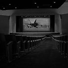 Movie Theater in Black and White by Buckwhite