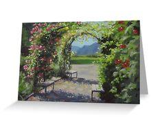 Vineyard Gardens Greeting Card