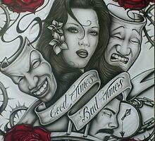 Good/Bad times by Bilistik Art