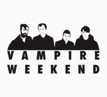 Vampire Weekend t-shirt by sgtplastictramp