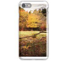 New England Fall Farm Scene iPhone Case/Skin