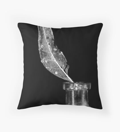 The Decayed Throw Pillow