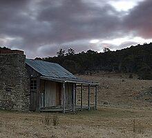 Brayshaws Hut, Namadgi National Park, ACT, Australia  by Melanie Roberts
