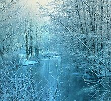 Winter River by Svetlana Sewell
