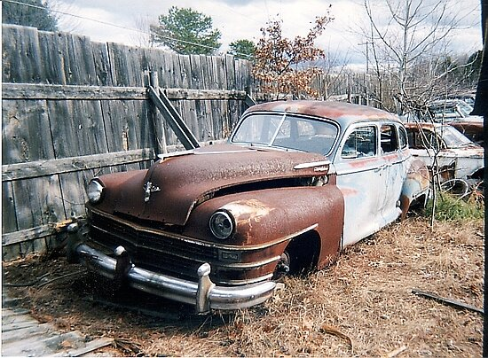 ~ Her Grandfather's Chrysler ~ by Sean Phelan