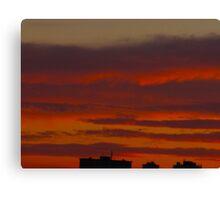 Cloud timbers Canvas Print