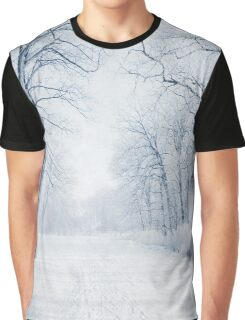 Winter Path Graphic T-Shirt