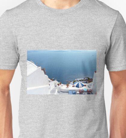 Santorini Caldera from Fira II T-Shirt