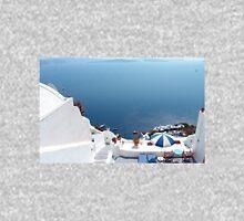 Santorini Caldera from Fira II Unisex T-Shirt