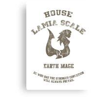 Earth Mage of Lamia Scale Canvas Print