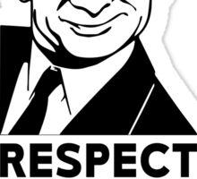 Respect The Bean Sticker
