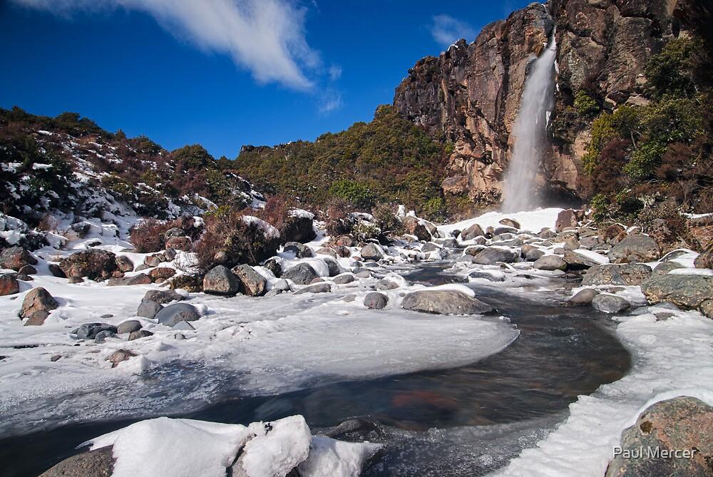 Taranaki Falls by Paul Mercer