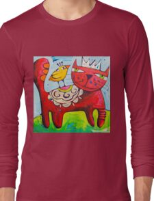 Salsa King Long Sleeve T-Shirt