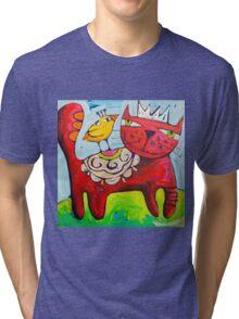 Salsa King Tri-blend T-Shirt
