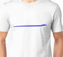 Dodge Chalenger R/T Side Fender Stripe Teeshirt - Blue Unisex T-Shirt