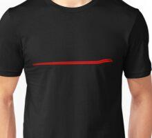 Dodge Chalenger R/T Side Fender Stripe Teeshirt - Red Unisex T-Shirt