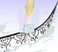 angel in the sky_2 by Marishkayu