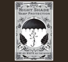 Night Shade Vampire Sun Protection, keeps you white FOREVER by TopherAdam