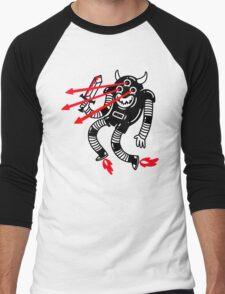 Killer Robot Men's Baseball ¾ T-Shirt