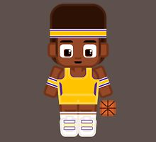Basketball Gold and Purple Unisex T-Shirt
