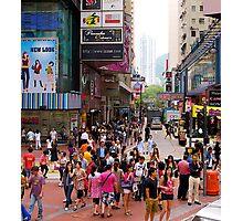 Streetscape, Hong kong, 2012. Photographic Print