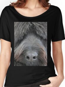 The Face of a Briard Women's Relaxed Fit T-Shirt