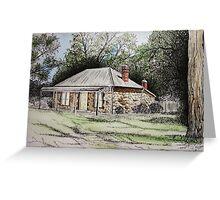 Buckingham House, Western Australia Greeting Card