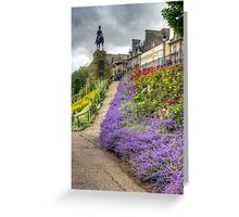 Lavender in the Park Greeting Card