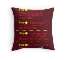 Hey Chief! Throw Pillow