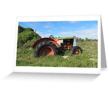 Forgotten Iron Horse !!!!! Greeting Card