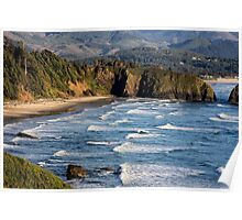 Looking toward Crescent Beach Poster