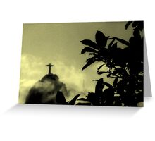 Christ the Redeemer  Greeting Card