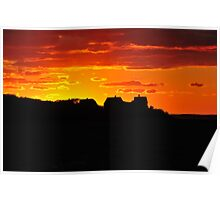 Sunset over West Chop Poster