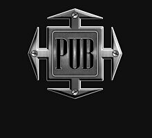 Pub in metal cross Hoodie