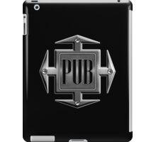 Pub in metal cross iPad Case/Skin